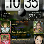 Four Widgets on a Screen
